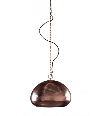 Miedziana lampa wisząca Hammered Oval Zuiver