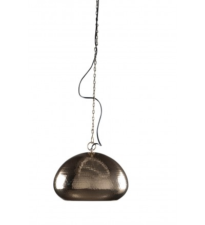 Lampa wisząca Hammered Oval Zuiver - mosiądz