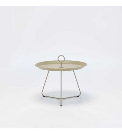 OUTLET Stolik EYELET Tray Table Ø60 HOUE - khaki, na zewnątrz