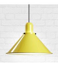 Lampa Reflex Stożek z obciążnikiem kulowym TAR Design - żółta