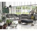 Sofa 2-osobowa REST Muuto - tkanina Wooly 1042