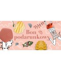 Bon podarunkowy 300 zł Pufa Design - wersja różowa