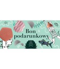 Bon podarunkowy 100 zł Pufa Design - wersja miętowa