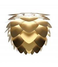 Lampa aluminiowa Aluvia mini brushed brass UMAGE (dawniej VITA Copenhagen) - złota