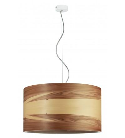 Lampa wisząca FUNK 40/22P orzech satyna - średnica 40 cm