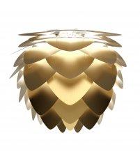 Lampa aluminiowa Aluvia medium brushed brass UMAGE (dawniej VITA Copenhagen) - złota