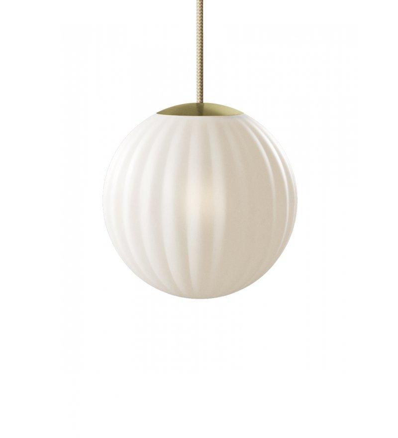 Lampa Bright Modeco Brass Nordic Tales - przewód crema