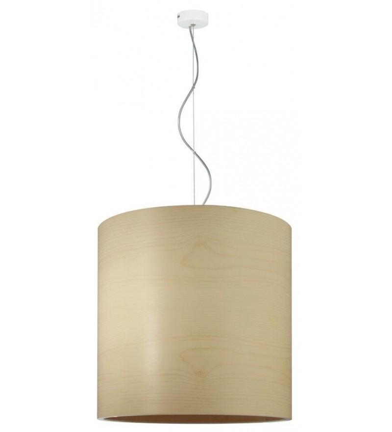 Lampa wisząca FUNK 40/40P klon - średnica 40 cm