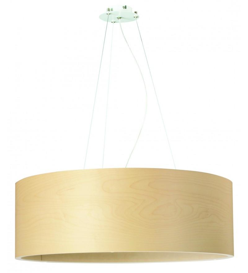 Lampa wisząca FUNK 60/20P klon - średnica 60 cm