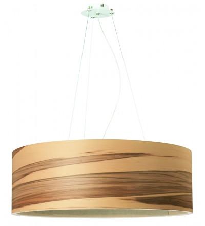 Lampa wisząca FUNK 60/20P orzech satyna - średnica 60 cm