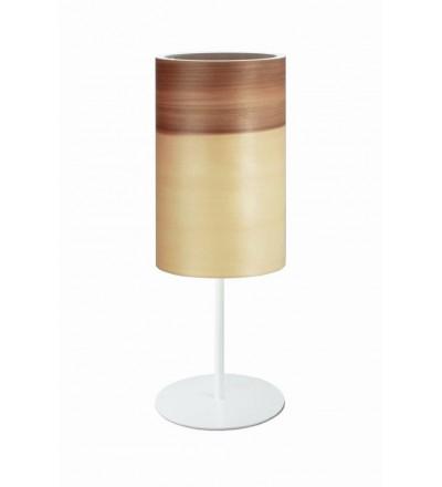 Lampa stołowa FUNK 16/26T orzech satyna - średnica 16 cm