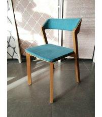 OUTLET Krzesło tapicerowane Merano TON - buk B116, tkanina Softlen 562