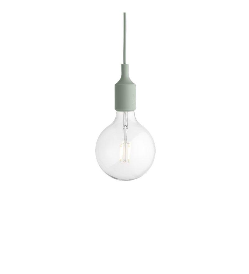 Lampa E27 LED Muuto - różne kolory