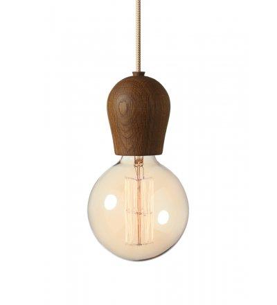 Lampa Bright Sprout Nordic Tales - dąb przydymiony + przewód crema
