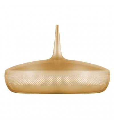 OUTLET Lampa Clava Dine Brass V2 UMAGE (dawniej VITA Copenhagen) - mosiądz, białe wnętrze