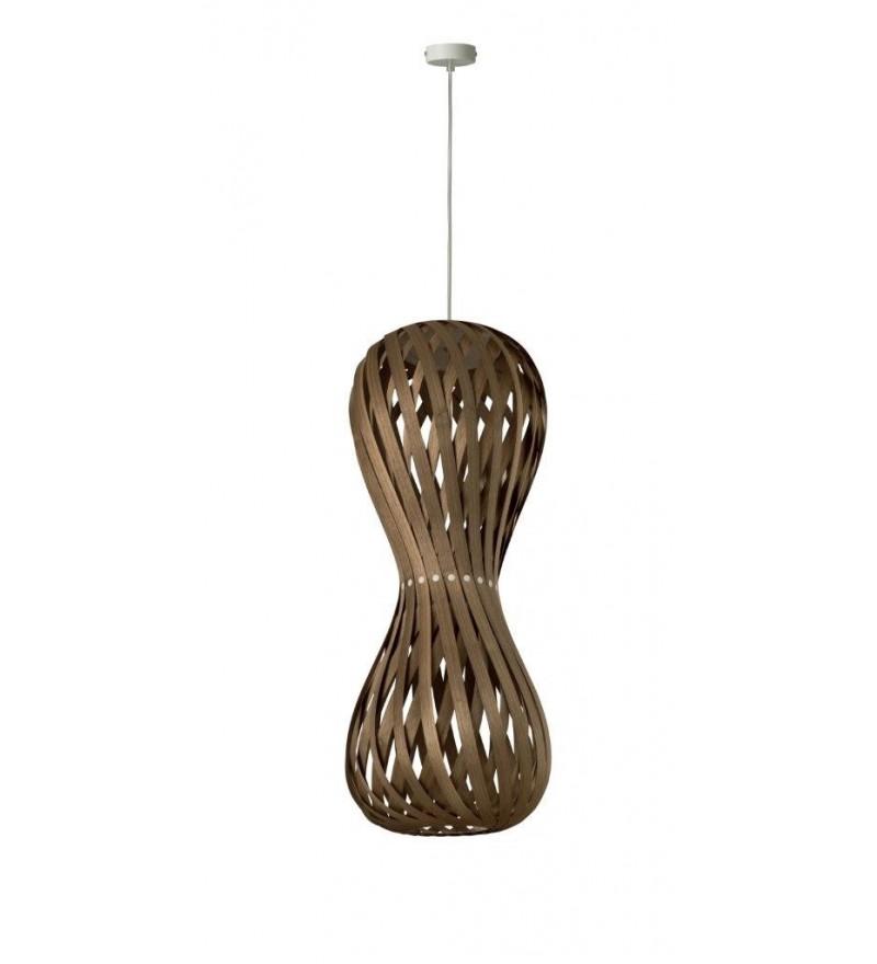 Lampa wisząca SWING 30/70P orzech - średnica 30 cm