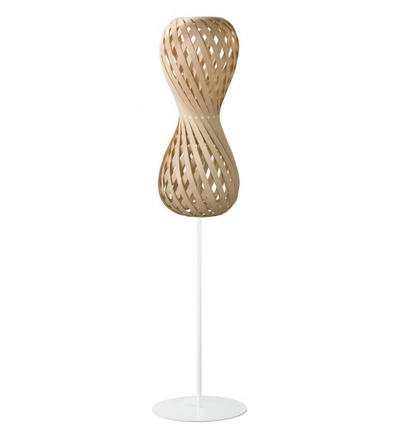 Lampa podłogowa SWING 30/70S klon - średnica 30 cm