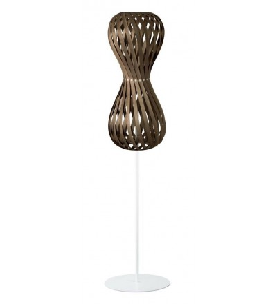 Lampa podłogowa SWING 30/70S orzech - średnica 30 cm