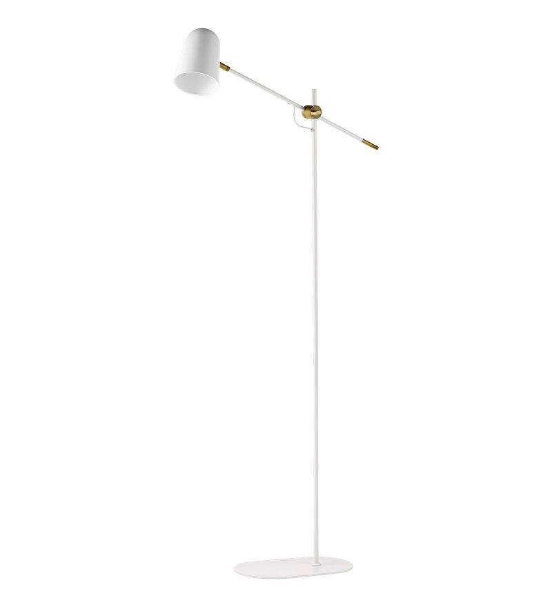 Lampa podłogowa Bureau Floor Bolia  - biała