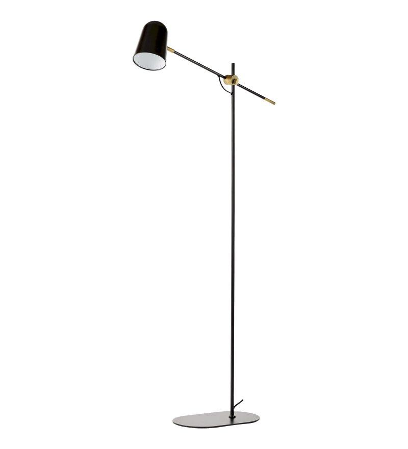 Lampa podłogowa Bureau Floor Bolia  - czarna