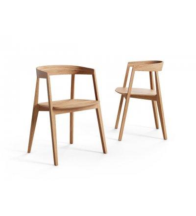 Krzesło KOS Nurt - dąb olejowany