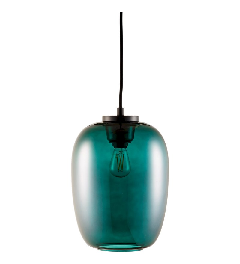 Lampa wisząca Grape Small Slim Bolia - green / black