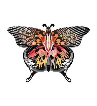 Dekoracja ścienna ze schowkiem Motyl Madama Butterfly MIHO