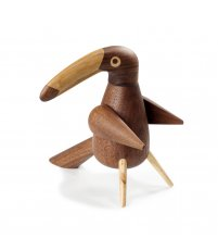 Młynek do pieprzu Tukan / The Pepper Bird Walnut Spring Copenhagen - wersja limitowana, drewno orzechowe