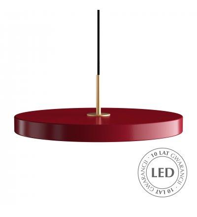 Lampa Asteria ruby UMAGE - bordowa