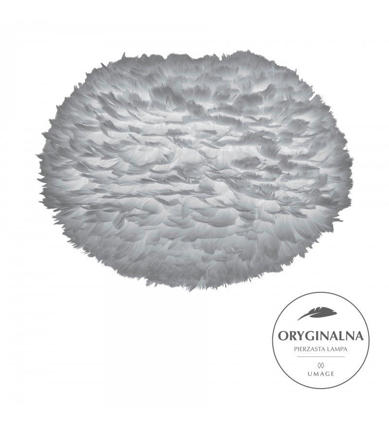 Lampa z piór Eos Large Light Grey UMAGE (dawniej VITA Copenhagen) - jasnoszara