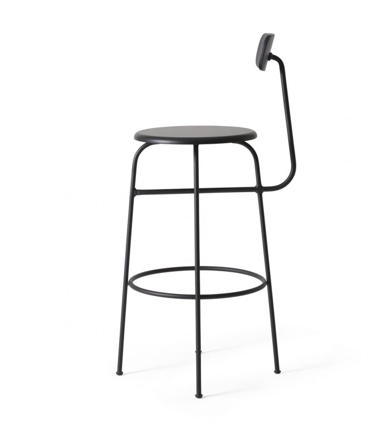 Hoker Afteroom Bar Chair Menu - czarny