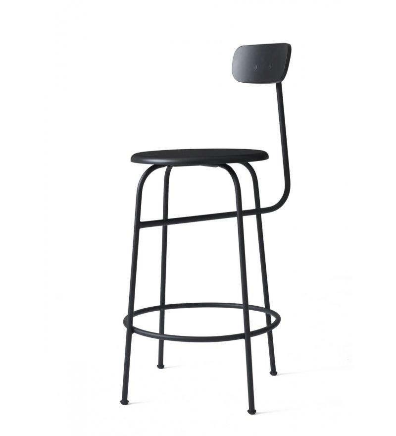 Hoker Afteroom Counter Chair Menu - czarny