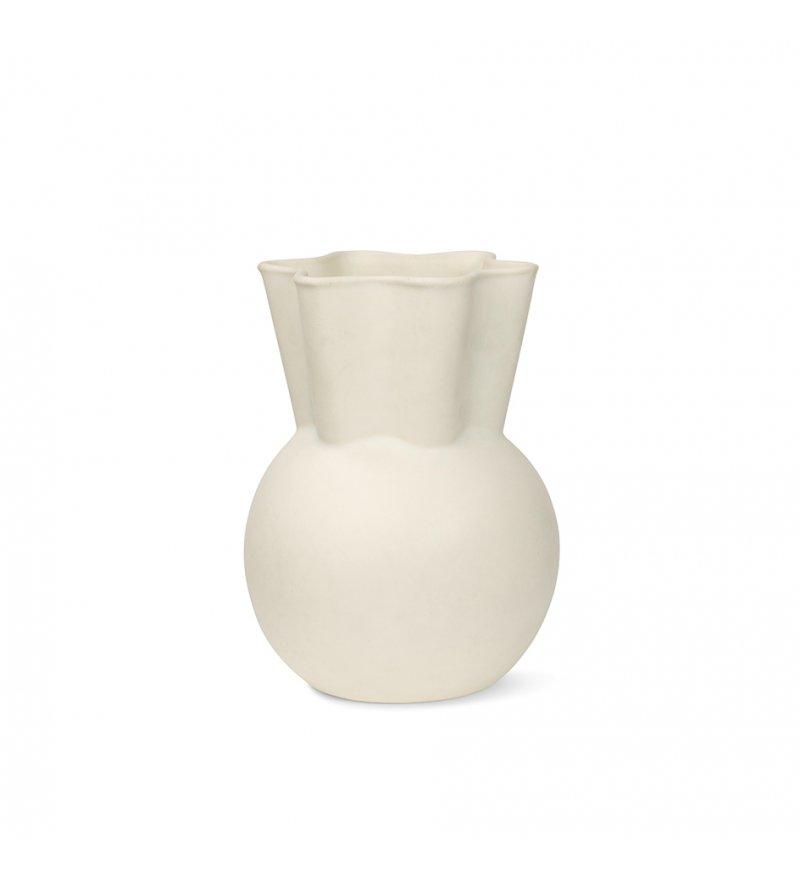Wazon ceramiczny Spring Copenhagen - 20 cm, złamana biel
