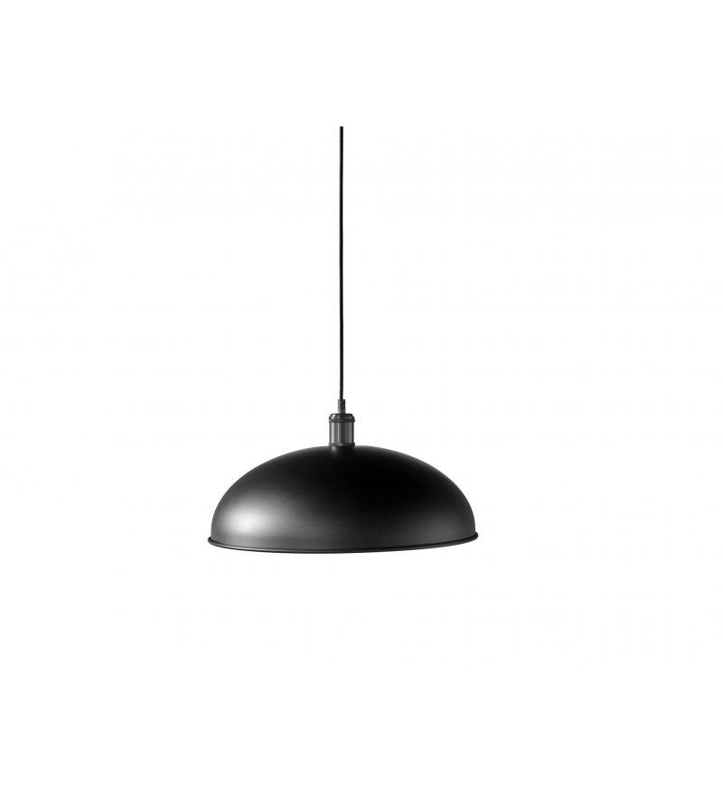 Lampa wisząca Hubert Menu - 45 cm, czarna