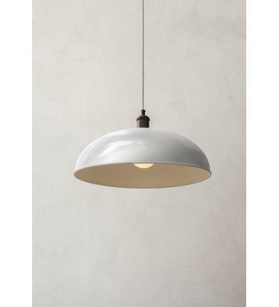 Lampa wisząca Hubert Menu - 45 cm, ivory
