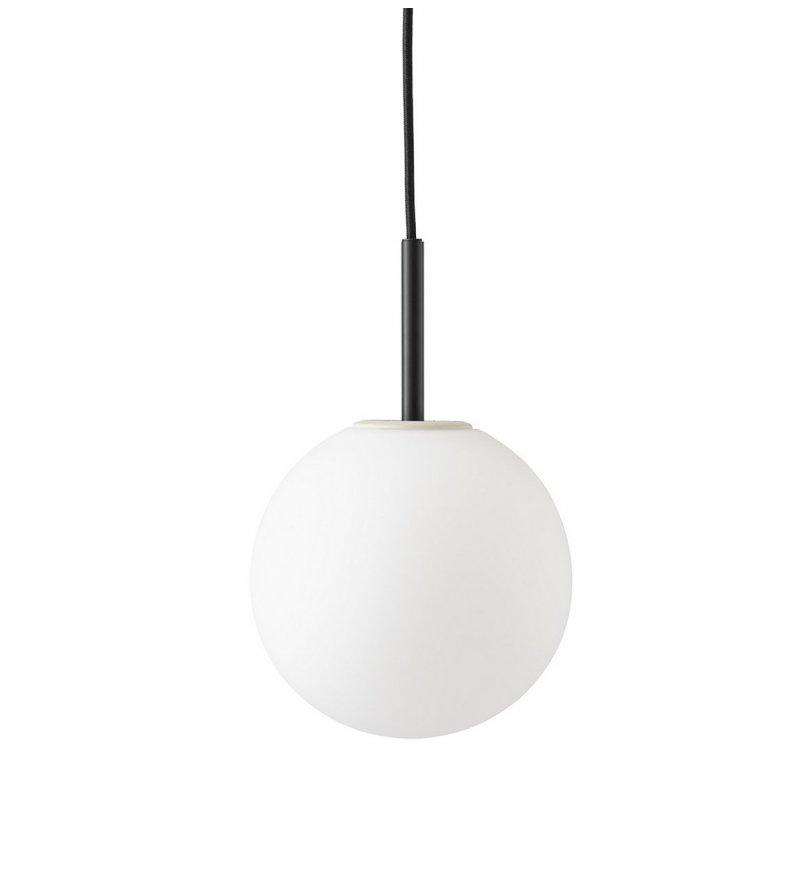 Lampa wisząca TR Bulb Menu - czarna / matowa, ze ściemniaczem