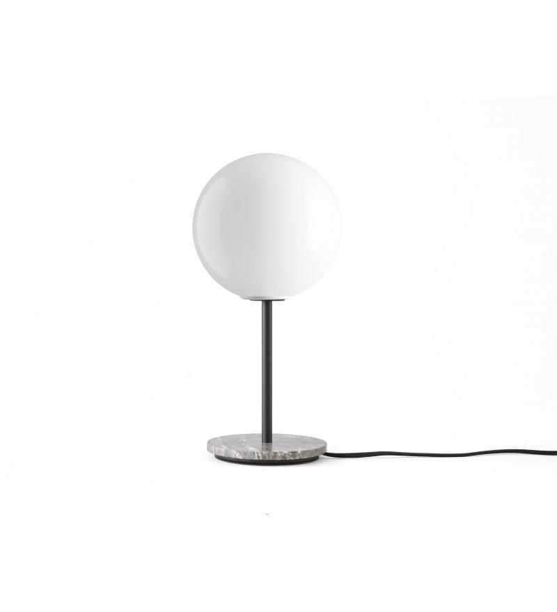 Lampa stołowa TR Bulb Menu - szary marmur / z połyskiem, ze ściemniaczem