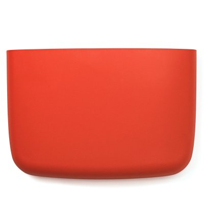 Organizer ścienny Pocket 4 Normann Copenhagen - spicy orange / koralowy