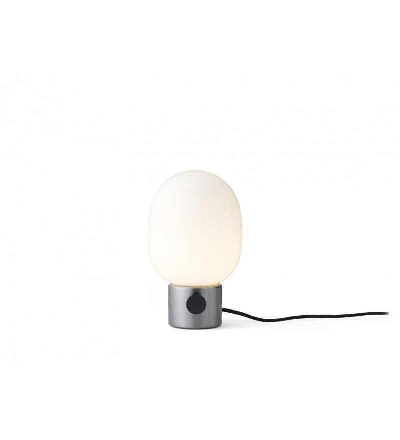Lampa stojąca ze szczotkowanej stali JWDA Menu