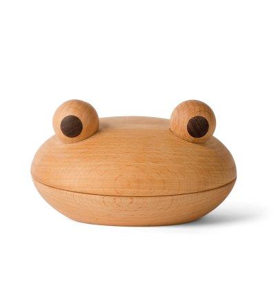 Szkatułka / misa z pokrywką Żaba / Frog Spring Copenhagen