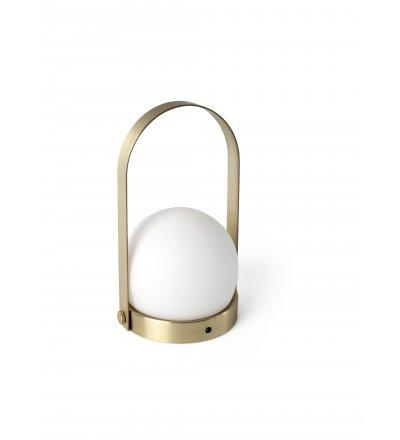 Lampa Carrie LED Menu - szczotkowany mosiądz