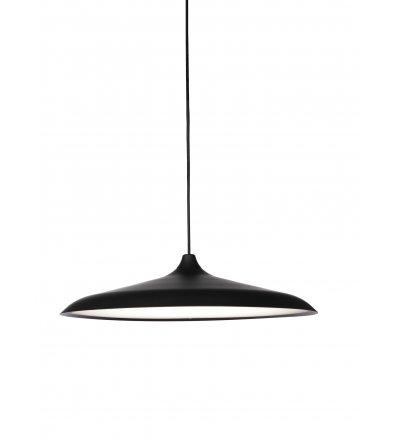 Lampa wisząca Circular Menu - czarne aluminium