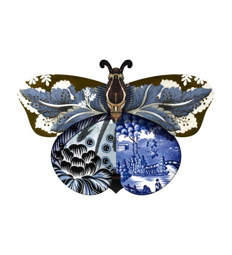 Dekoracja ścienna ze schowkiem Motyl Tosca MIHO