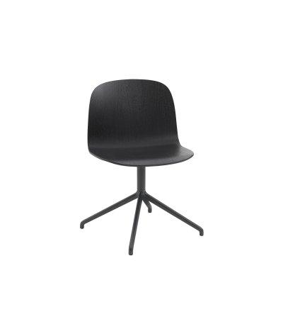 Krzesło na podstawie krzyżakowej VISU Wide Chair Muuto - różne kolory