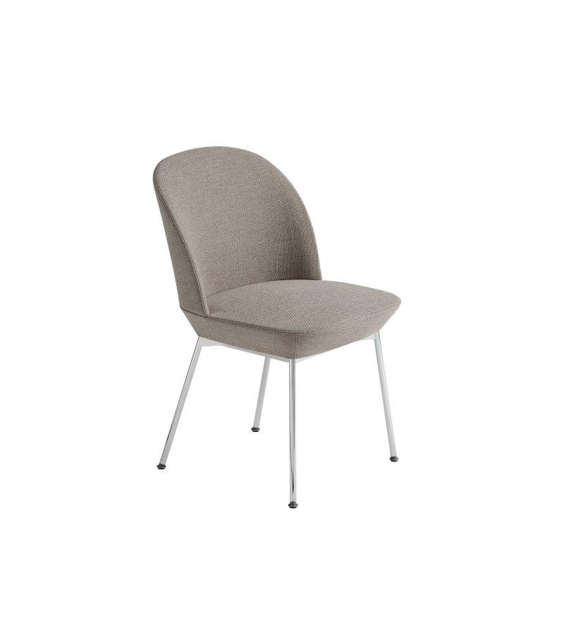 Krzesło tapicerowane OSLO SIDE CHAIR MUUTO - różne kolory
