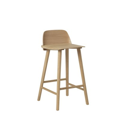 Hoker / stołek barowy NERD MUUTO - 2 wielkości, różne kolory