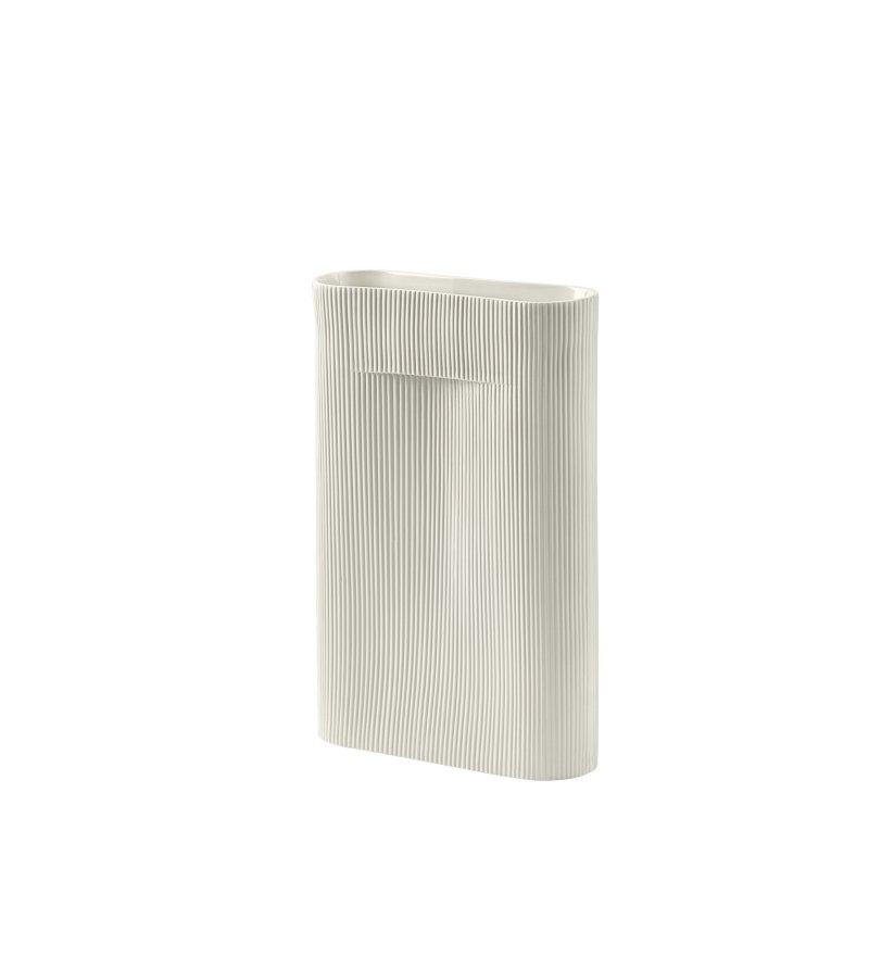 Wazon Ridge Muuto - wysokość 48.5 cm, off-white