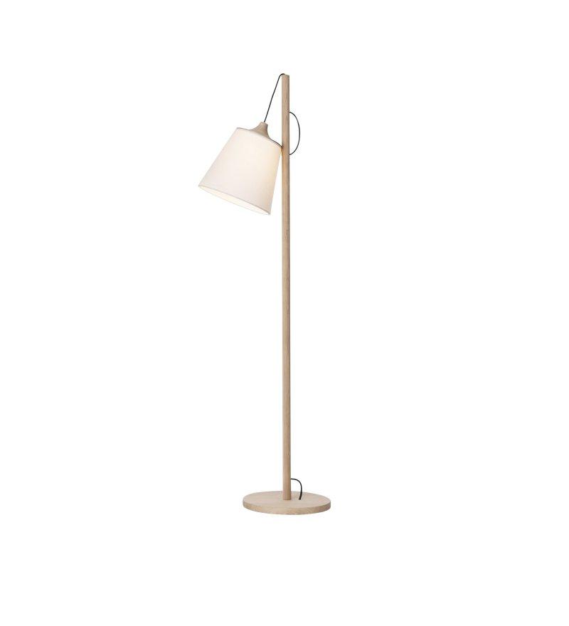 Lampa podłogowa Pull Lamp Muuto - dąb/biel