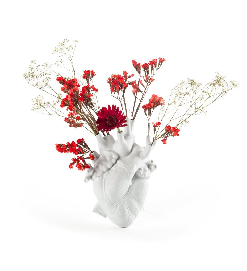 Wazon Love in Bloom Seletti - biała
