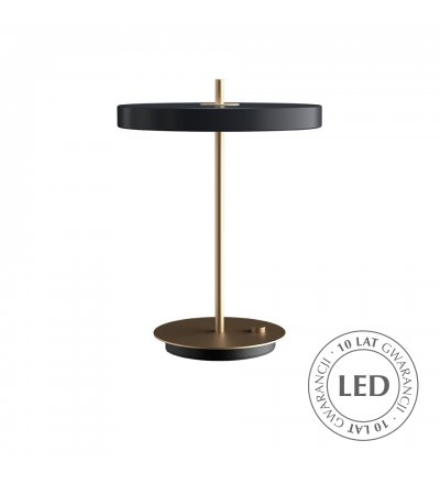Lampa Asteria Table anthracite UMAGE - antracytowa szarość